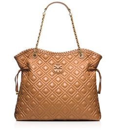 Tory Burch quilted slouch tote - nearly 50% off with code:  NEWYEAR http://rstyle.me/n/u9vnrnyg6