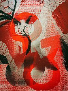 'Thinking of the evolution' von Gabi Hampe bei artflakes.com als Poster oder Kunstdruck $23.56