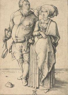 Повар и его жена - Альбрехт Дюрер 1471–1528 Германия