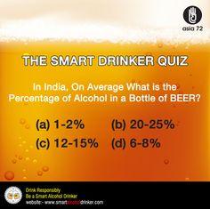 Smart #Alcohol #Drinker #Quiz ? https://www.facebook.com/smartalcoholdrinker