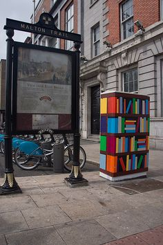 "Street Art And Traffic Lights - ""Bookcase"" By Holly & Cathal"