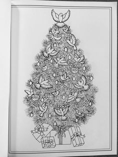 Amazon Prime Now Creative Haven Christmas Trees Coloring Book