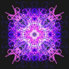 caleidoscope koztar Art Print by KoZtar Rorschach Test, Purple Wallpaper, Cg Art, Graphics, Ceiling Lights, Art Prints, Decor, Mandalas, Art Impressions