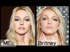 Britney Spears Makeup Tutorial - YouTube