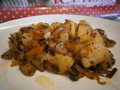 Spanish Kitchen, Spanish Food, Potato Recipes, Vegetable Recipes, Veggie Main Dishes, Avocado Pasta, Carne, Food And Drink, Yummy Food