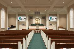 Church Decorating, Interior, 3D Renderings, Liturgical Design