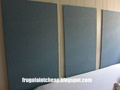 Frugal Ain't Cheap: Soundproofing a Room (basement, music room, gym, office, theater room. Home Theater Setup, Best Home Theater, Home Theater Seating, Theatre, Home Studio, Soundproofing Walls, Drum Room, Acoustic Panels, Acoustic Wall