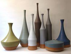 LB Morandi Mood Vases by Nadia Pignatone