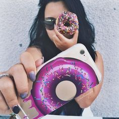 donut phone case #milkywaycases #iphone #phonecase