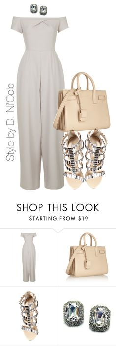 """""""Untitled #2290"""" by stylebydnicole ❤ liked on Polyvore featuring Love, Yves Saint Laurent, Steve Madden and Fantasy Jewelry Box"""