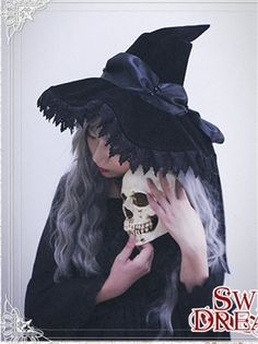#LolitaUpdate: Cutie Creator [-✙✙-Witch's House-✙✙-] Velvet Bow Lolita Witch Hat for the upcoming 2016 #Halloween >>> http://www.my-lolita-dress.com/cutie-creator-witch-s-house-velvet-bow-lolita-witch-hats