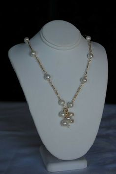 Fresh Water Pearls necklace  /0139 by divinepearls on Etsy, $44.99