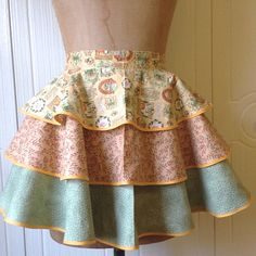 #MothersDay #Perfect Gift Women's Vintage Style Half Apron  Heavy Sugar by theHouseofLux, $57.00