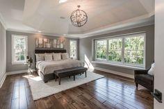 4 Key Elements Every Master Bedroom Design Needs Tray Ceiling Bedroom, Home Decor Bedroom, Bedroom Ideas, Bedroom Makeovers, Master Bedroom Design, Dream Bedroom, Master Suite, Bedroom Designs, Contemporary Bedroom