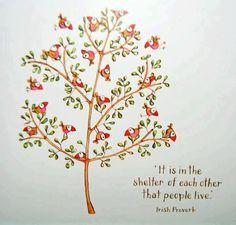 Irish Proverb...