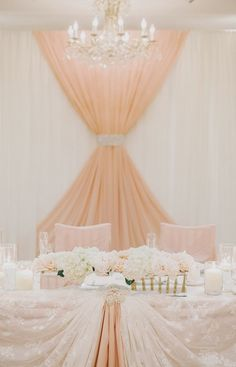 Canadian Blog how to decorate a sweetheart table