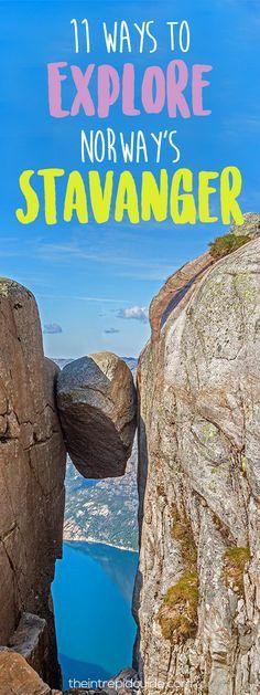 11 Ways to Explore Norway's Stavanger Region