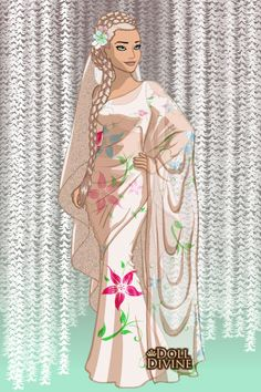 Sari ~ by themanchild ~ created using the Sari doll maker | DollDivine.com