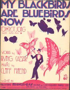 Wurth 1929 My blackbirds are bluebirds now