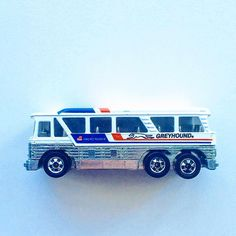 Mailfind! I'm stoked to add this piece to the collection. 1979 Hot Wheels Greyhound Bus! #hotwheels #hwc #vintagetoys #vintage #diecastphotography #thelamleygroup
