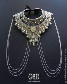 Necklace, handmade beads.  Fair Masters - handmade Wonderland.  Handmade.