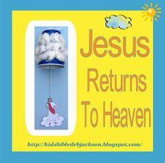 Jesus has Breakfast on Shore and Returns to Heaven lesson, ideas and printables #Biblefun #NTBiblelesson #lifeofjesus
