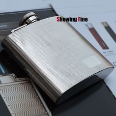 6Oz 304 Stainless Steel Flask Perfect Outdoor Bottle Drinkware Hip Flask