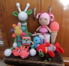 I Love Buttons By Emma, Some more of my crochet toys