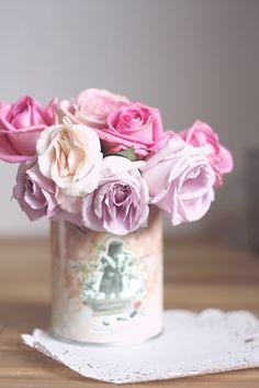Pink & Violet roses