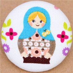 fabric button @modes4u