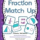 Fraction cards for whole, half, third, and fourth including: -word -number -part of a whole -part of a set  Includes fractional parts of squares, t...