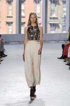 Proenza Schouler Fashionshow SS14 #Proenza #Fashionshow #Runway #Ahollydream #Hollygolightly