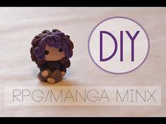 Manga Minx Chibi polymer clay tutorial