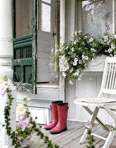 Vintage chic: Superromantisk hytte/ romantic Victorian cottage