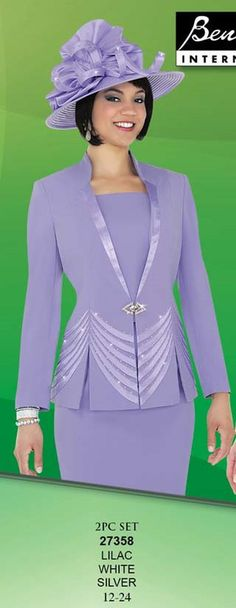 Check out the deal on Ben Marc Franccesca Bellini 27358 Womens Suit at French Novelty