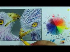In this three part video tutorial series with accompanying practice coloring worksheet, Jones Flores teaches us about the color wheel, color schemes and how to apply those color schemes to our coloring. Coloring Tips, Adult Coloring, Coloring Books, Coloring Pages, Grayscale Image, Colored Pencil Techniques, Colouring Techniques, Chalk Pastels, Prismacolor