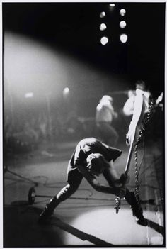 The Clash - Paul Simonon, London Calling | by Pennie Smith, New York City, c1979