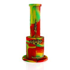 $55 www.waxmaidstore.com  bongs,silicone water pipes,hot sale 420 products,glow in the dark,cannabis,weed killer,dab rig,kush. #waxmaid #siliconebong #magneto #bong