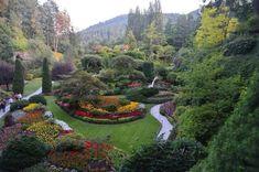 The Sunken Garden at Buchart Gardens (176 pieces)
