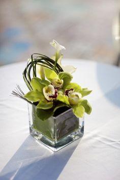 New Wedding Flowers Orchids Centerpieces Ideas Orchid Flower Arrangements, Orchid Centerpieces, Wedding Centerpieces, White Orchid Centerpiece, Banquet Centerpieces, Tall Centerpiece, Centrepieces, Cymbidium Orchids, Purple Orchids