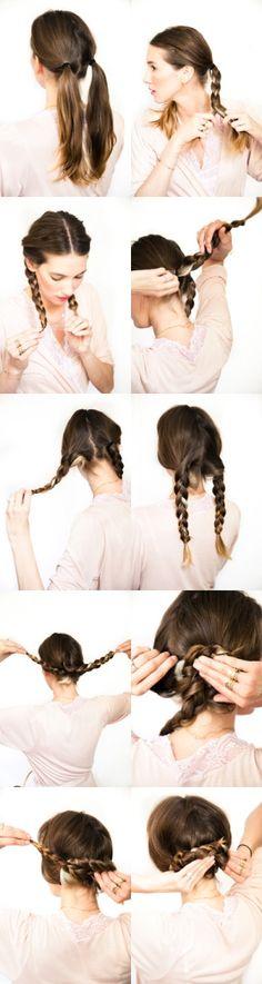 wedding braids hair tutorial | Beauty Tutorials by imad karrari
