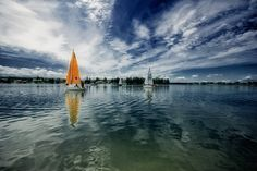 Great Masurian Lakes (Poland). 'Sip a cocktail on the deck of a luxury yacht, take a dip, or don a lifejacket, grab your paddle and slide off into a watery adventure on one of the interconnected lakes that make up this mecca for Polish sailing and water-sports fans. Away from the water, head for one of the region's buzzing resorts, where the slap and jangle of masts competes with the clinking of glasses.' http://www.lonelyplanet.com/poland/warmia-and-masuria/great-masurian-lakes