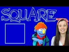 ▶ Learn About Shapes - Square - YouTube
