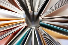 #photography #perspective #read  #books maybe in a rainbow or a varrity of one color like pink-red...