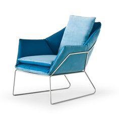 New York Chair Blue | Saba Italia