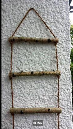 Zum Verkauf Stehen Diese Rustikalen Und Sehr Dekorativen Strickleitern. Es  Sind 2 Strickleitern.