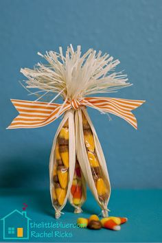 Candy corn husks