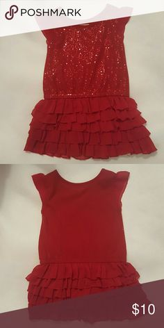 Girl's Dress Adorable Size 2T Dress * Great for Valentine's Day * Dress it up or down with a jean jacket for casual wear. Looks so cute on. * Barely worn * Children's Place Dresses Casual