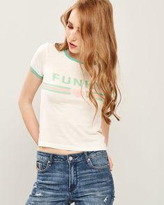 GRAPHIC T-SHIRT Spring Summer, T Shirt, Collection, Tops, Fashion, Supreme T Shirt, Moda, Tee Shirt, Fashion Styles