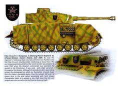 anzer IV Ausf. H del comandante de la 5. Kompanie, II Abteilung, 4. Panzerdivision. Polonia 1944